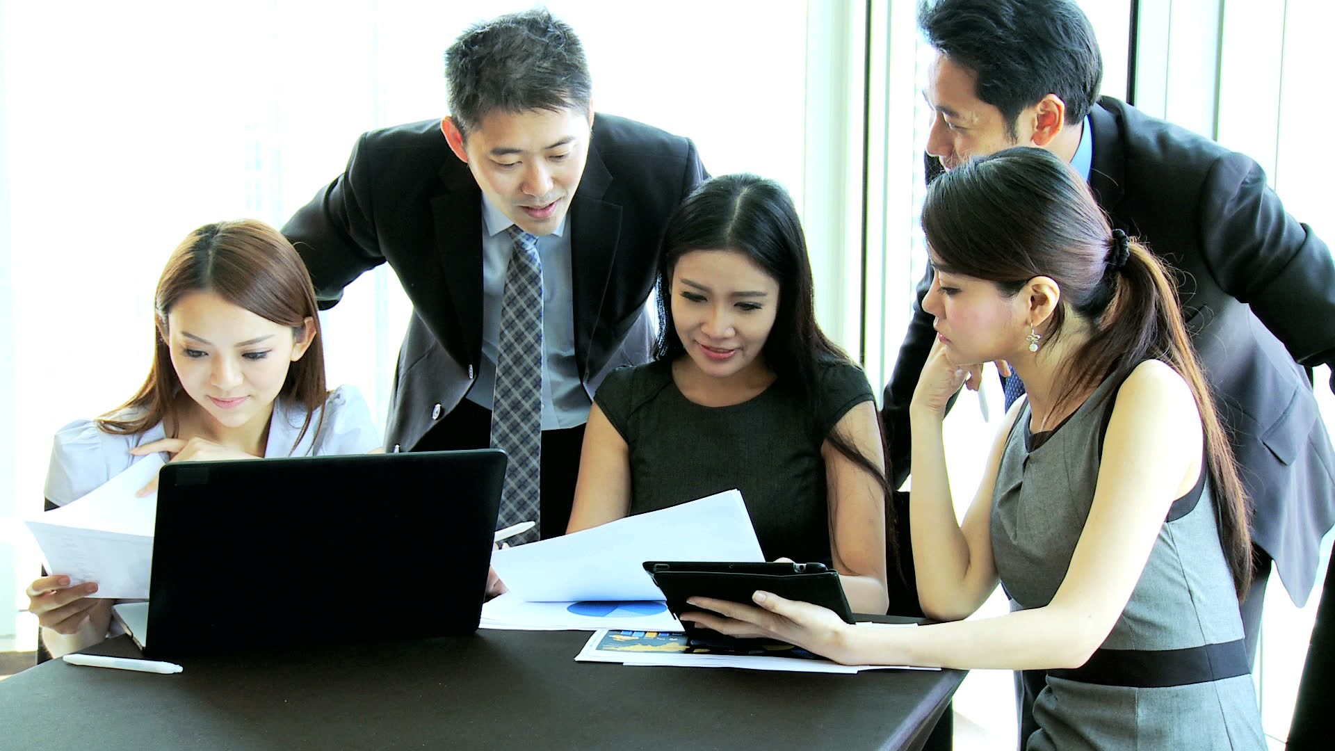 stock-footage-female-business-team-leader-group-male-female-asian-chinese-corporate-management-colleagues-meeting